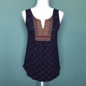 A Common Thread / Anthropologie sleeveless top